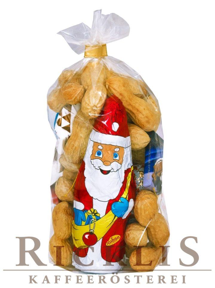 150g Klaussack klein mit feinen RickliS Erdnüssen